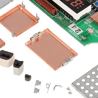 PCB-cutii, garnituri, carcase și cleme