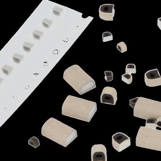 Conductă de etanșare pentru protecția PCB din cauciuc