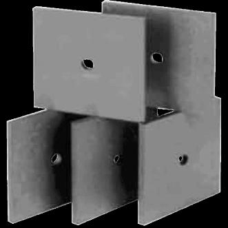 UHF Placi de absorbție de ferită