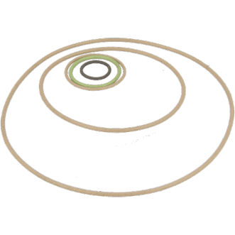 Conductive O-rings
