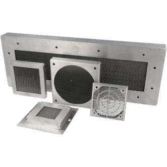 9500 - Panouri de ventilație de tip fagure