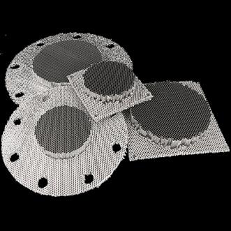 9505 - Panouri de ventilație fagure fără rame