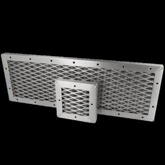 Placă de ventilație cu ochiuri de plasă EMC