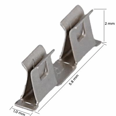 Montarea ecranului PCB - Clema medie (MC)