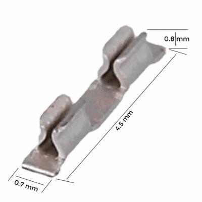 Montaj scut PCB - Clip extrem de mic (UTC)