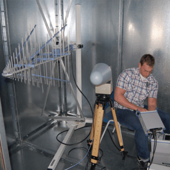 Măsurători pe cuștile Faraday & incinte